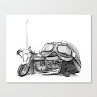 Cafe Racer II Canvas Print