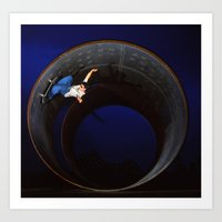 Bam - full pipe 99 Art Print