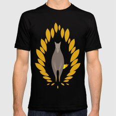 Superwolf SMALL Black Mens Fitted Tee