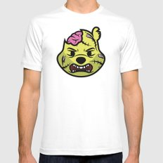 Zombie Winnie White Mens Fitted Tee SMALL
