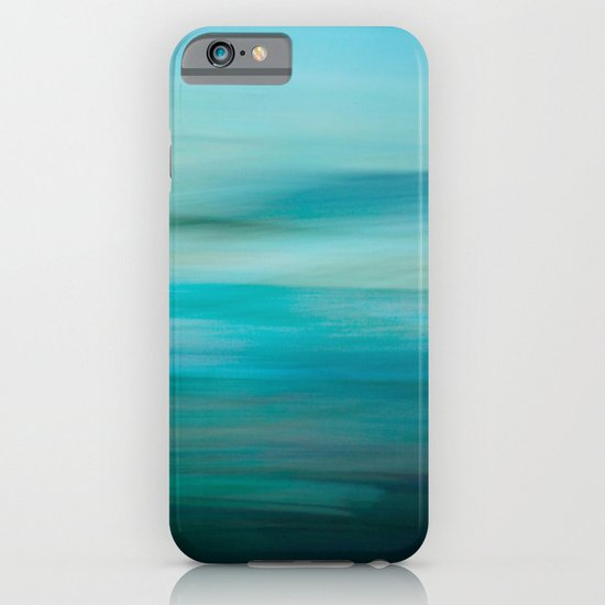 Greenish Blue Sea iPhone & iPod Case