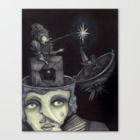 Ghost Light Canvas Print