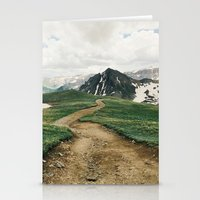 Colorado Mountain Road Stationery Cards