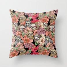 Because Sloths Throw Pillow