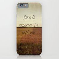 iPhone & iPod Case featuring Home is Wherever I'm With You by Josrick