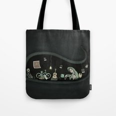 belly of the beast. Tote Bag