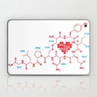 The chemistry of love Laptop & iPad Skin