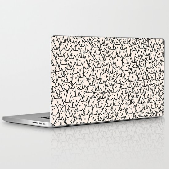 A Lot of Cats Laptop & iPad Skin
