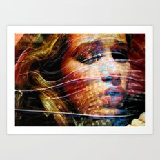 Celebrity Row - Piper Art Print