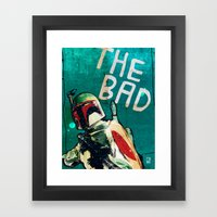 The Good, The Bad & The … Framed Art Print