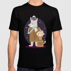Boxtrolls SMALL Black Mens Fitted Tee
