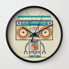 Music Robot Wall Clock