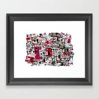 SinJam Framed Art Print