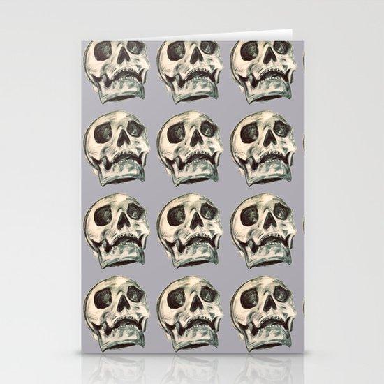 Skulls Stationery Card