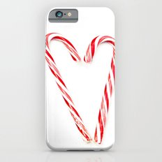 Candy Cane Love Slim Case iPhone 6s