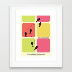 Dancing Shoes Framed Art Print