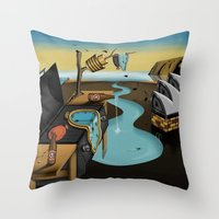 Where Time Stands Still … Throw Pillow