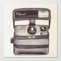 Ballpoint Palaroid Camer… Canvas Print