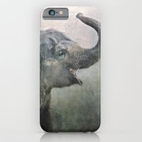 iPhone & iPod Case featuring Happy Elephant! by Pauline Fowler ( Polly470 )