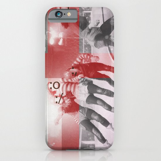 Punchtuation Roller Derby iPhone & iPod Case