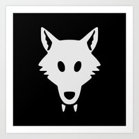 Lego WolfPack Art Print