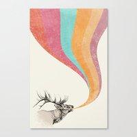 Elk Song Canvas Print