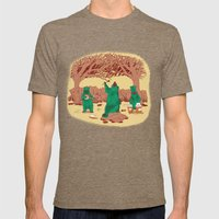 Rock The Forest Mens Fitted Tee Tri-Coffee SMALL