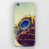 Blue Hour at the Carnival II iPhone & iPod Skin