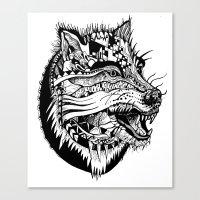 Ferocious Beauty Canvas Print