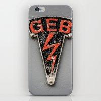 G E B iPhone & iPod Skin