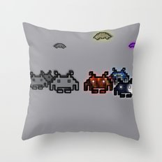 We Are Different Throw Pillow