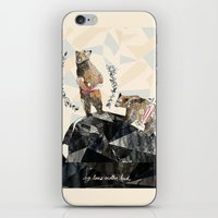 My Love's Another Kind iPhone & iPod Skin