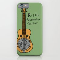 R Is For Resonator Guita… iPhone 6 Slim Case