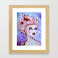 Susie Sundae Framed Art Print