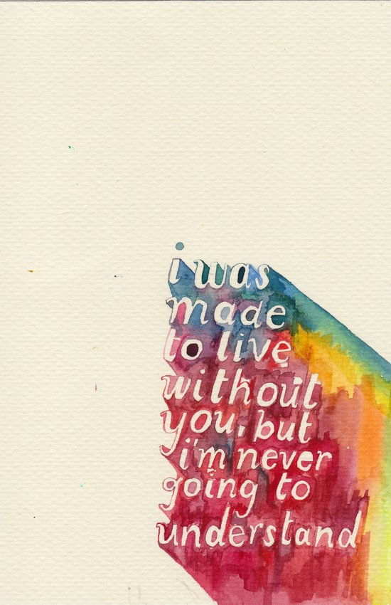 Made To Live Without Art Print