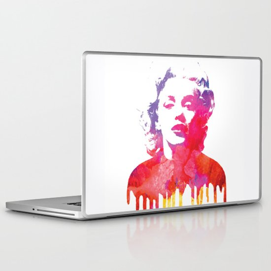 Marilyn Laptop & iPad Skin