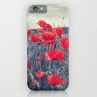 iPhone & iPod Case featuring field of love by Julia Kovtunyak