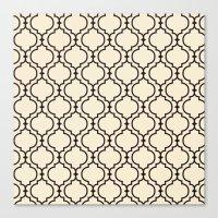 Trellis Pattern I Canvas Print