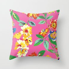 Kate Spade - Floral 3 Throw Pillow