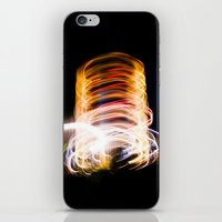 light me up iPhone & iPod Skin