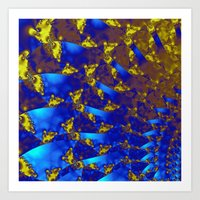 fractal Art Prints featuring Fractal. by Assiyam