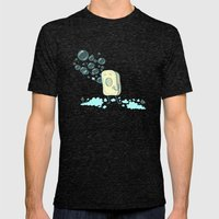 SOAPERA Mens Fitted Tee Tri-Black SMALL