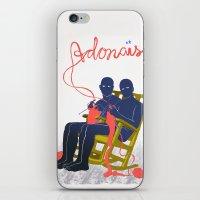 Adonais iPhone & iPod Skin