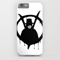 iPhone & iPod Case featuring V for Vendetta1 by Ezgi Kaya