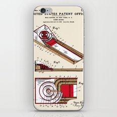 Skee Ball Patent iPhone & iPod Skin