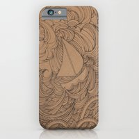 iPhone & iPod Case featuring Little Ship by PiqueStudios