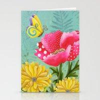 Wondrous Garden Stationery Cards