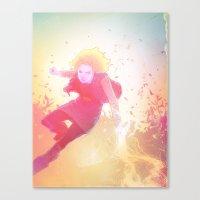 18 Canvas Print