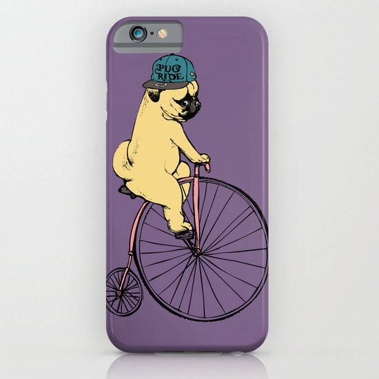 Pug Ride iPhone & iPod Case