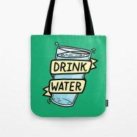 Drink Water Tote Bag